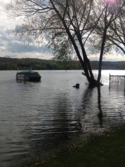High Water Flooding Damage