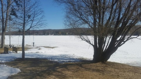 Winter is Still Alive & Well on Six Mile Lake!