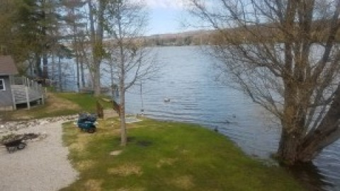 High Water Levels on Six Mile Lake